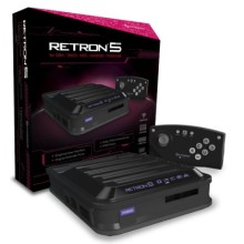 RetroN 5 Gaming Console (Black)